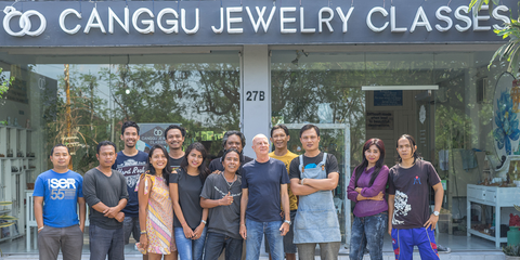 Our team at Canggu Jewelry Classes | Things to do in Canggu