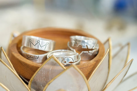 Wedding Bands Handmade