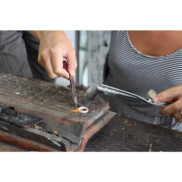 Learn to make a ring in Canggu Jewelry Making Classes| Jewelry Making Classes in Bali