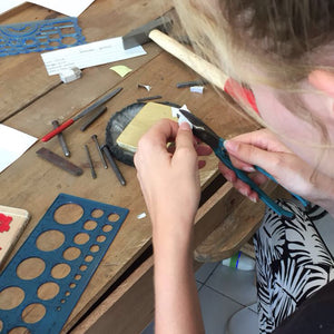 Intro to Silversmithing 1/2 day Jewelry Making Class