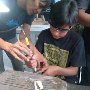 Parent / Child Silversmithing Class