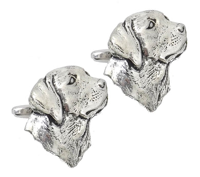 Labrador Dog Silver English Pewter Mens Gift cuff links by CUFFLINKS DIRECT