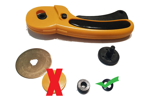 Take off the yellow washer (the one with the X) and use the spring washer only(green tick)