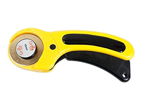 Rotary Cutter with Extra Steel Spare Blade - Driffy - 45mm