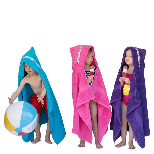 STANDARD HOODED TOWELS (1-8YRS)
