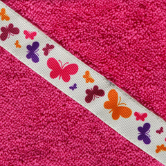*PRE-ORDER* Butterflies adult hooded towel (13+ yrs). Dispatch in 1-2 weeks