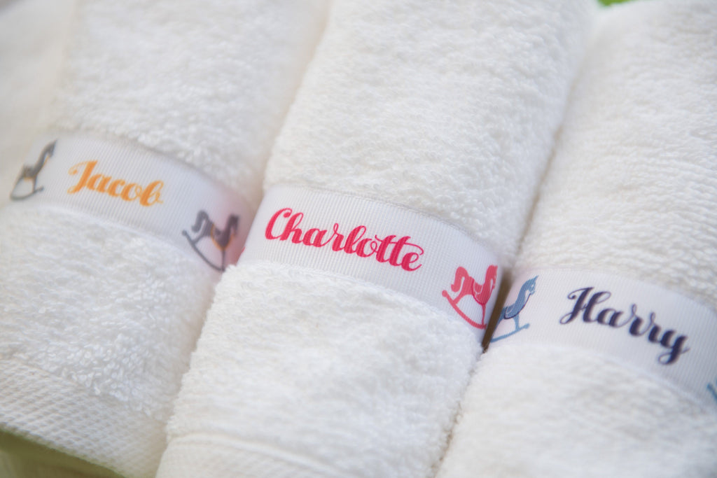 Personalised Rocking Horse trim in various colour ways