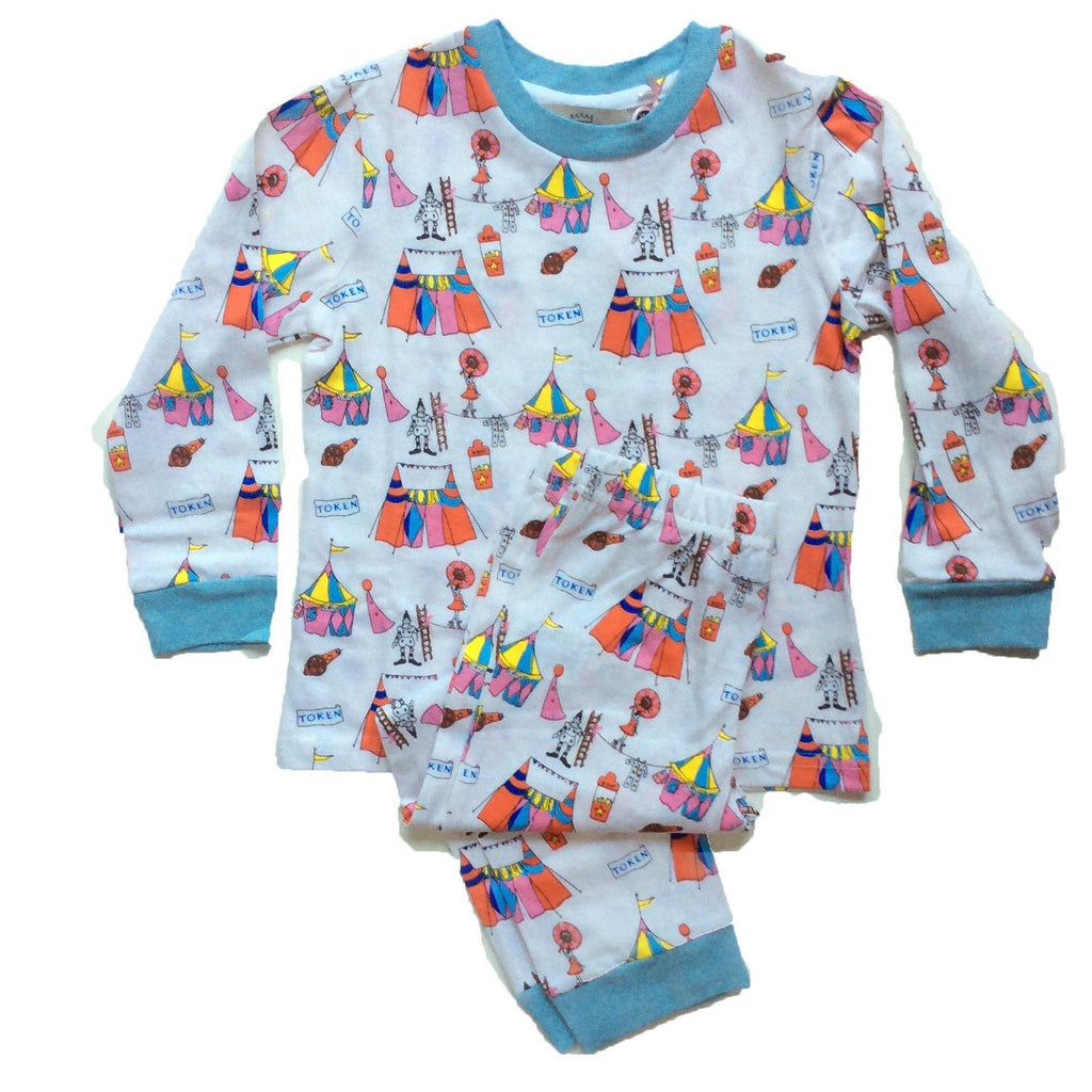 Children's Pyjamas | Their Nibs | Circus (2 Piece Set)