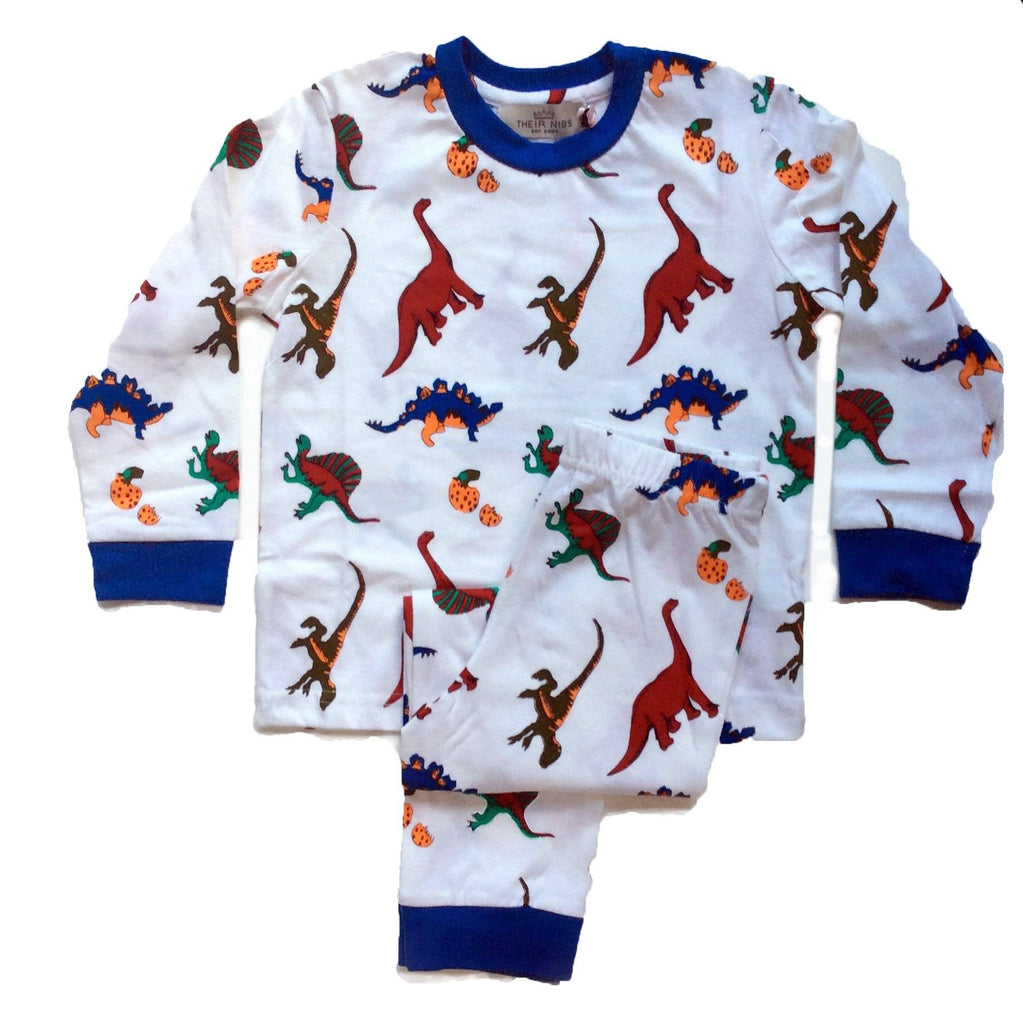 Children's Pyjamas | Their Nibs | Dinosaurs (2 piece set)