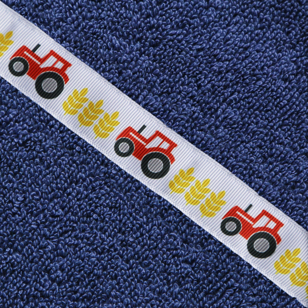 Matching towels | Navy Blue | Red Tractors