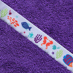 Hooded Towel - Coral Reef Hooded Towel (Standard)