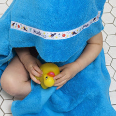 Hooded Towel - Outer Space Hooded Towel (personalised)