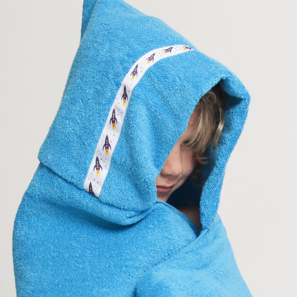 Hooded Towel - Rockets Hooded Towel (Jumbo, Turquoise)
