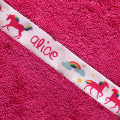 Hooded Towel - Unicorns Hooded Towel (personalised)