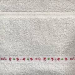 Personalised Facecloths Beginning With