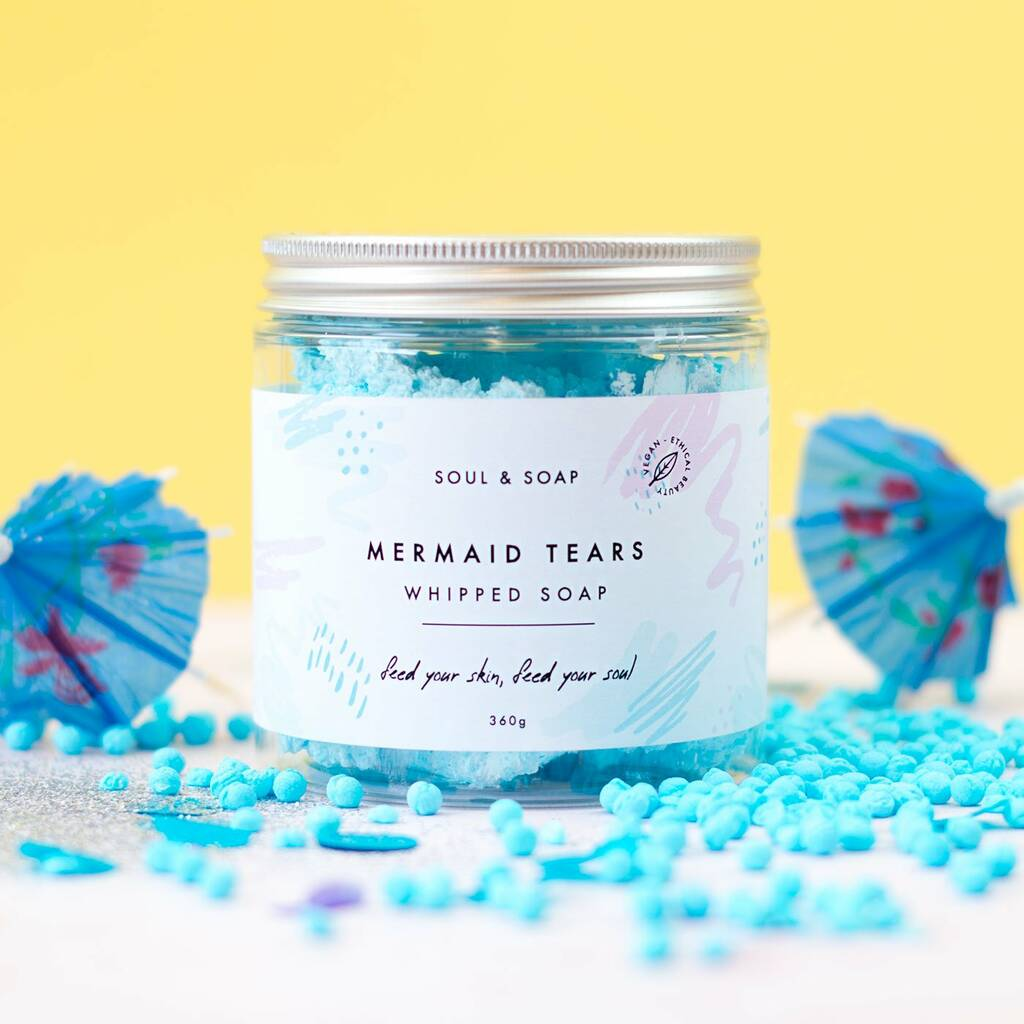 Whipped Soap - Mermaid Tears Whipped Soap