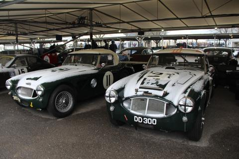 Goodwood Members' Meeting. Different it certainly was!