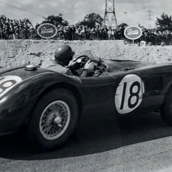 "When a ""drinking driver"" and a Colditz prisoner won Le Mans in Jaguar's C-type"