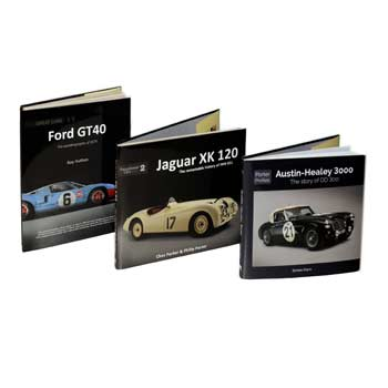 Introducing Porter Profiles, our latest collection of motoring books