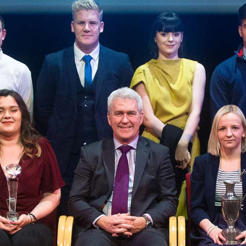 Herefordshire & Worcestershire Group Training's Apprentice awards presentation