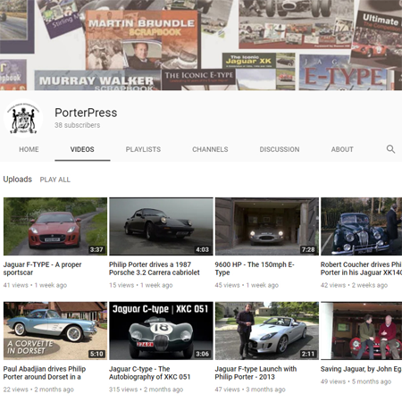 Videos to interest the motor enthusiast