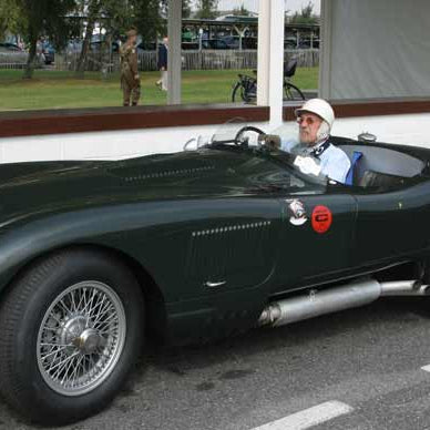 Stirling Moss in a C-type
