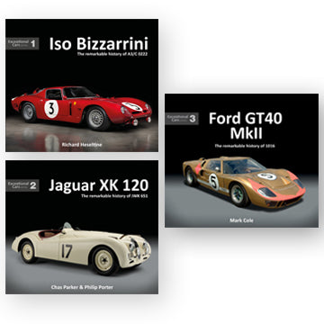 Exceptional Cars – Bizzarrini, Jaguar XK and Ford GT40