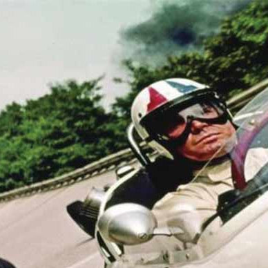Grand Prix movie with James Garner