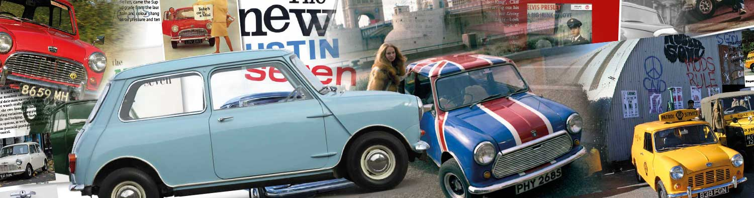 Iconic Mini in the Swinging Sixties