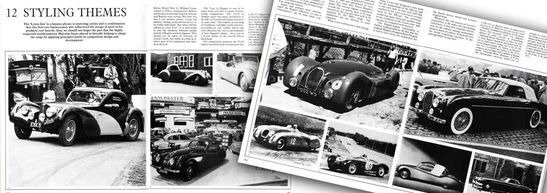 Styling the Jaguar C-type