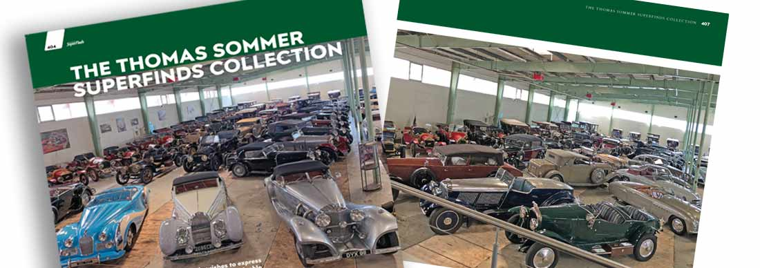 Thomas Sommer car collection