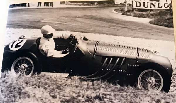 Stirling Moss in 1950 works HWM