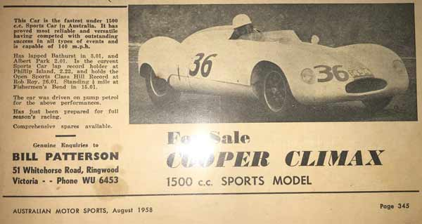 1956 Cooper Climax