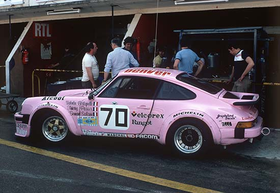 1981 Thierry Perrier entered a Porsche running on alcohol