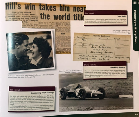 Graham Hill's wife Bette