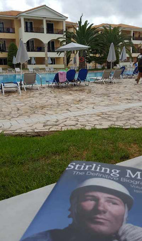 On holiday with a good book