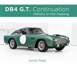 DB4 GT book coming soon
