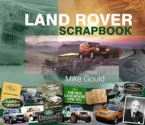 Land Rover book by Mike Gould