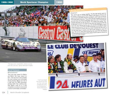 Martin Brundle winning Le Mans 24 Hours