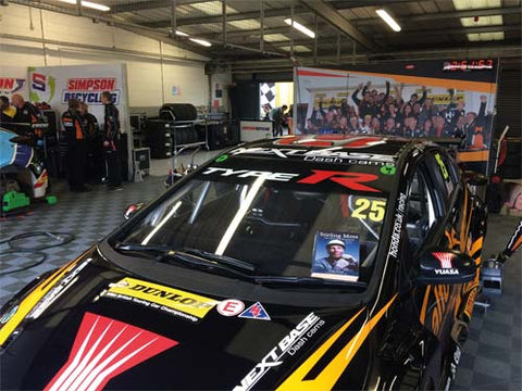 Matt Neal's Honda Type Rat the BTCC at Silverstone