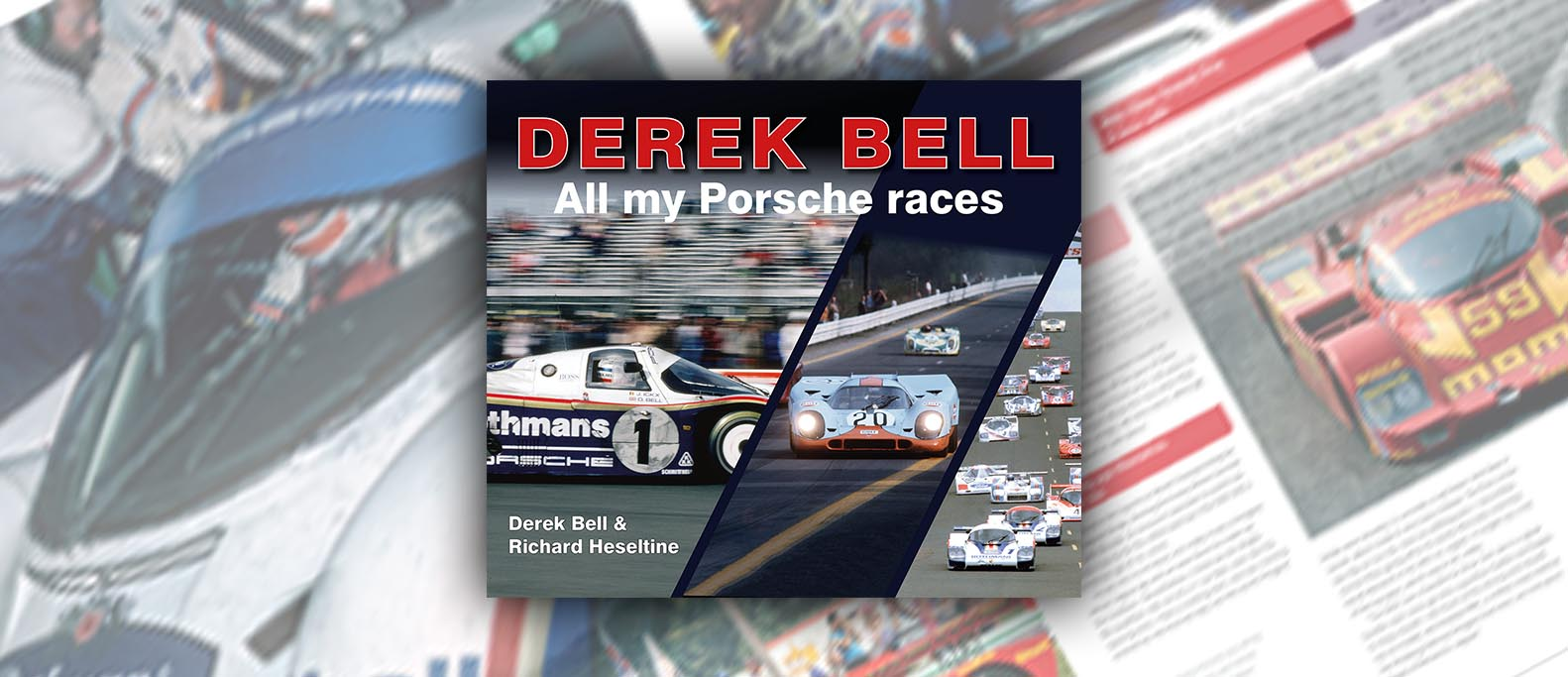 derek bell book for sale