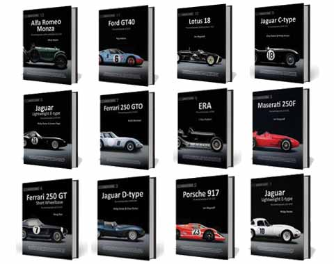 History of classic cars books