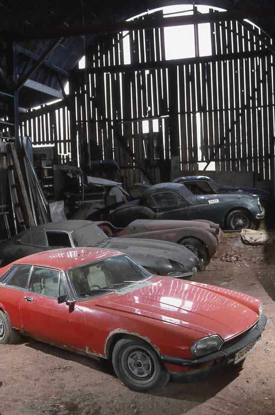 XK barn finds
