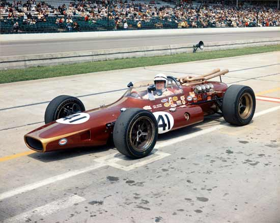Carl Williams in 1967 Indianapolis