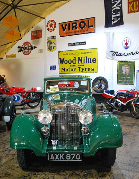 Collection of pre-war cars