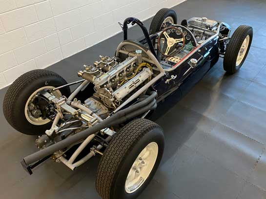 Cooper-Climax engine