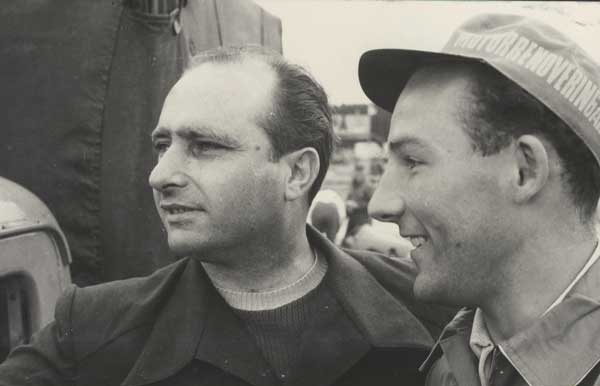 Fangio with Stirling