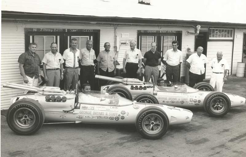 George Bryant's BRP team