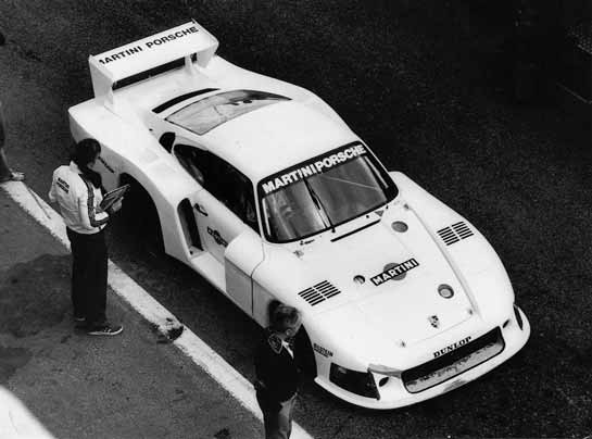 Jacky Ickx testing the revised version of Moby Dick