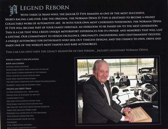 Norman Dewis with D-type